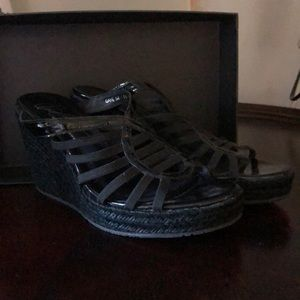 """Black 4"""" Shoes"""